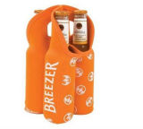 絶縁されたトートバック6パックの缶ビールのクーラー袋