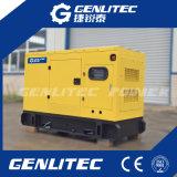 Gerador Diesel silencioso de Genlitecpower 80kw/100kVA com motor de Deutz