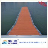 Decking solide de 40X25mm WPC de Chine