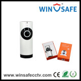 小型Fisheye 720p HD P2p無線IRホームIPのカメラ