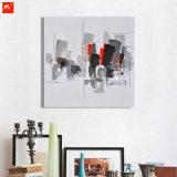 Het abstracte Impressionistic Olieverfschilderij Van de binnenstad van de Kunst van de Muur