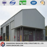 O OEM personalizou a oficina estrutural de aço Prefab/verteu/Warehuse