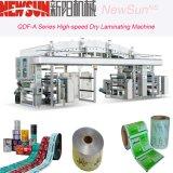 Maquinaria seca de la laminación CPP de Qdf-a de la película de alta velocidad de la serie