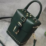 중국 공장 제조자 Sy8121에서 여자에 의하여 개인화되는 형식 Buket 여자 마약 밀매인 어깨에 매는 가방