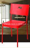 Цветастый пластичный металл штабелируя обедать и стул кофеего (LL-0053)