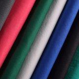 Tela tecida do Twill do poliéster do Spandex de matéria têxtil para a camisa