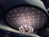 Потолок оптового простирания 3D нержавеющей стали 304 художнический
