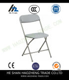 Falz-Stuhl des Plastikharz-Hzpc042 (grauer Sitz/rückseitig mit grauem Feld)