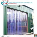 Cortinas transparentes tira polar material superior do PVC do cheiro do PVC do DOP da boa para o armazenamento do gelo