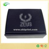 Folha de prata que carimba a caixa de jóia, caixas de presente de papel (CKT-CB-241)