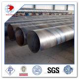 Tubo de acero espiral de Dn1200 Sch Std API 5L X42 para el petróleo y el gas