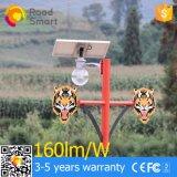 lâmpada solar do jardim de 4W 8W 12W capaz da rotação arbitrária do ângulo solar da placa