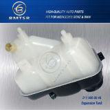 メルセデスCls500 E320 E350のための2115000049のエンジンのラジエーターの冷却剤の流出の拡張タンク