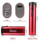 Selbstverteidigung USB, der nachladbar ist, betäuben die roten Taschenlampen-Funktionen der Gewehr-LED