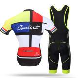 Bicicleta de ciclo Biking de secado rápido de la ropa que completa un ciclo jerseys de ciclo de montaña de Jersey de la aduana respirable de la bici