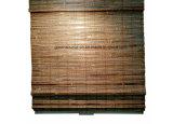 Cortinas sem corda no material de bambu