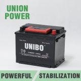 Батарея автомобиля автоматической высокой эффективности батареи DIN62 12V62ah безуходная