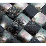 Schwarze Mosaik-Fliese des Lippenmopp-Shell-60*60mm