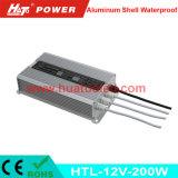alimentazione elettrica impermeabile delle coperture di alluminio costanti LED di tensione 12V-200W