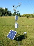 Im Freien automatischer Monitor-Wetterstation