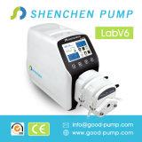 식물성 기름 이동 펌프 V6-3L의 Shenchen 실리콘 배관 연동 양수