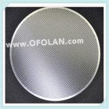 Engranzamento de perfuração da folha Titanium do ânodo para o Wastewater químico