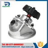 Válvula de desagüe neumática de la válvula de parte inferior del tanque del acero inoxidable