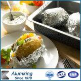 Recipiente de alimento da folha de alumínio de recipiente de alimento