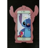 競争iPhoneのための3D漫画のシリコーンの箱をカスタム設計しなさい