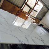 Brame Polished de marbre d'or de l'Italie Calacatta de qualité
