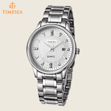 Relógio impermeável 72425 do bracelete de quartzo do relógio de Mens do aço inoxidável