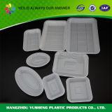 Nahrung- für Haustieretellersegment, Wegwerfverpackungs-Tellersegment