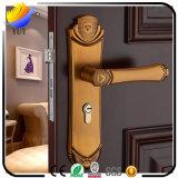 Европейский крытый деревянный замок двери ручки замка оборудования двери