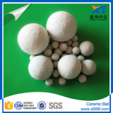 Bola de cerâmica inerte com alta força de esmagamento