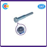 Pin шестиугольника стали углерода 4.8/8.8/10.9 головной/винт крепежной детали фланца Galvanized/M6 вала