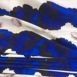 폴리에스테 복장 상단 재킷 치마를 위한 능직물에 의하여 인쇄되는 길쌈된 의복 직물