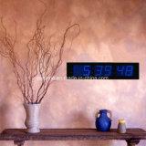 Reloj de tiempo electrónico decorativo grande del indicador digital LED