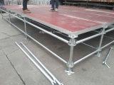Etapa de acero de la alta calidad para Profoemance y el acontecimiento al aire libre