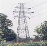 Projeto de aço da engenharia da torre do ângulo