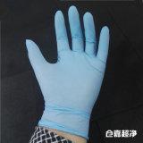 Перчатка ESD перчатки нитрила верхнего качества голубая
