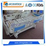 5 Apparatuur van de Bedden van het Ziekenhuis van de functie de Regelbare Elektrische Elektronische Medische met ABS ZijSporen (GT-BE5020)