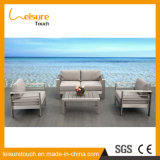 Plastic Wood Top Coffee Sofa Furniture를 가진 Quality 높은 Cheap Price Simple Modern Design Sofa Set 정원 Outdoor Table