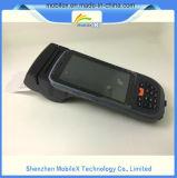 Colector de datos con la impresora, explorador del código de barras, 4G, GPS