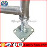 Trépied matériel galvanisé d'échafaudage d'échafaudage équilibré de support de construction