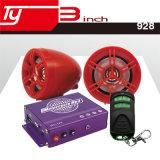 Lecteur MP3 de contrôle de fil de l'amplificateur sonore 2.5m de moto avec la DEL