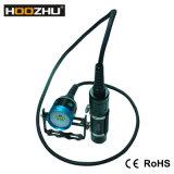 Flitslicht Vier van het Vrij duiken van de Bus van Hoozhu Hv33 Licht Maximum 4000lm Onderwater 100m het Duiken van de Kleur Licht OnderwaterLicht
