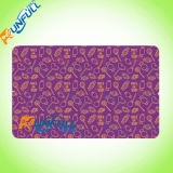 Tarjeta de la raya magnética del panel/del código de barras de firma del PVC Cr80 para la tarjeta de la lealtad