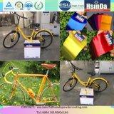 자전거 프레임을%s 폴리에스테 사탕 미러 효력 살포 분말 코팅