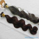 30% de rabais sur la vente en usine Indian Remy Human Pre Bonded Hair