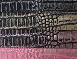 2017 het Fashione In reliëf gemaakte Leer van de Zak van pvc van Croco Pu (W198)